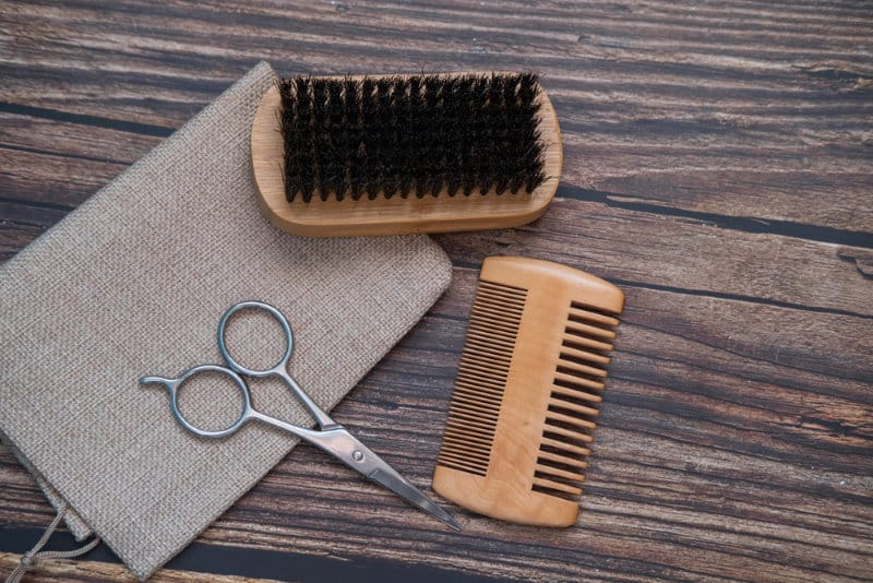 Caring For Your Beard Brush